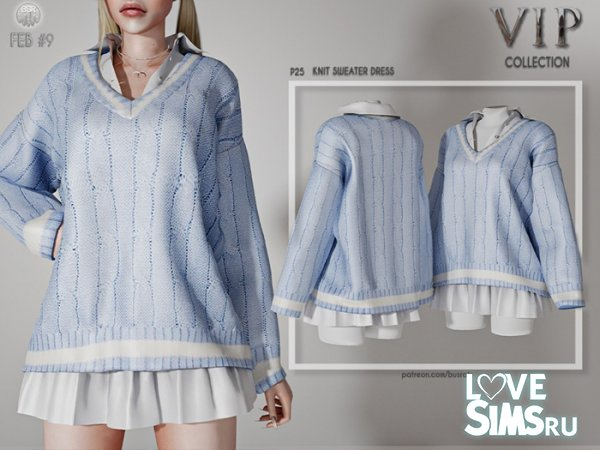 Платье Knit Sweater Dress P25