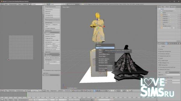 Как сделать статую в Симс 4?
