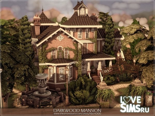 Дом Darkwood Mansion
