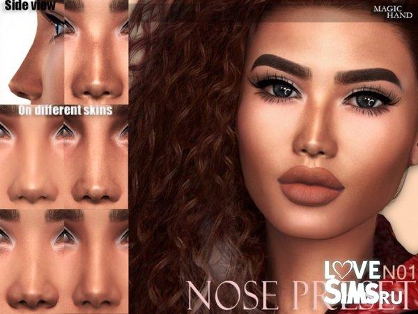 Nose Preset N01 от MagicHand