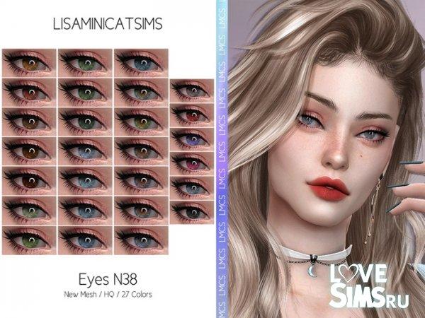 Линзы Eyes N38 от Lisaminicatsims